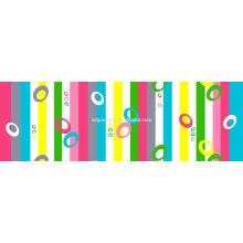 Tissu imprimé T200 T / C 50/50 110x90 pour draps