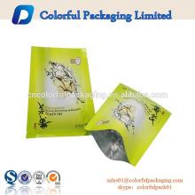 Venda quente preço de fábrica logotipo personalizado folha de alumínio saquinho olho facial máscaras cosméticas embalagem
