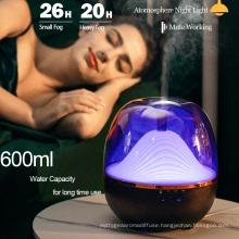600 Ml Private Label Difusor Electrico Aroma Difuser Fragrance Aromatherapy Machine Diffuser Essential Oil Humidificador