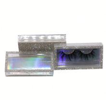 SL032H Hitomi Mink Lashes Custom Eyelash Packaging soft natural mink eyelashes Fluffy 25mm Magnetic Mink Eyelashes