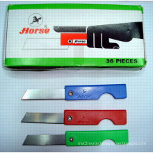 Plastic Handle Pencil Knife (BJ-PNF-022)