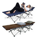 2015 High Quality Outsunny Aluminum Folding Camp Bed