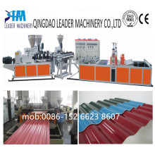 UV Resistance Corrugated Roofing PVC Plate Extrusion Machine