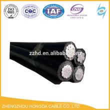 Conductores ABC, aluminio con cable de aislamiento XLPE 3CX 95sqmm + 1CX50sqmm