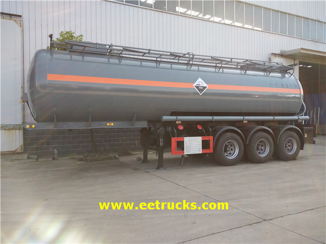 8000 Gallon Sodium Hydroxide Trailers
