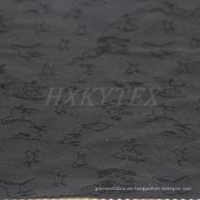 Animal Jacquard con 4-Way Spandex tela de nylon para chaqueta casual
