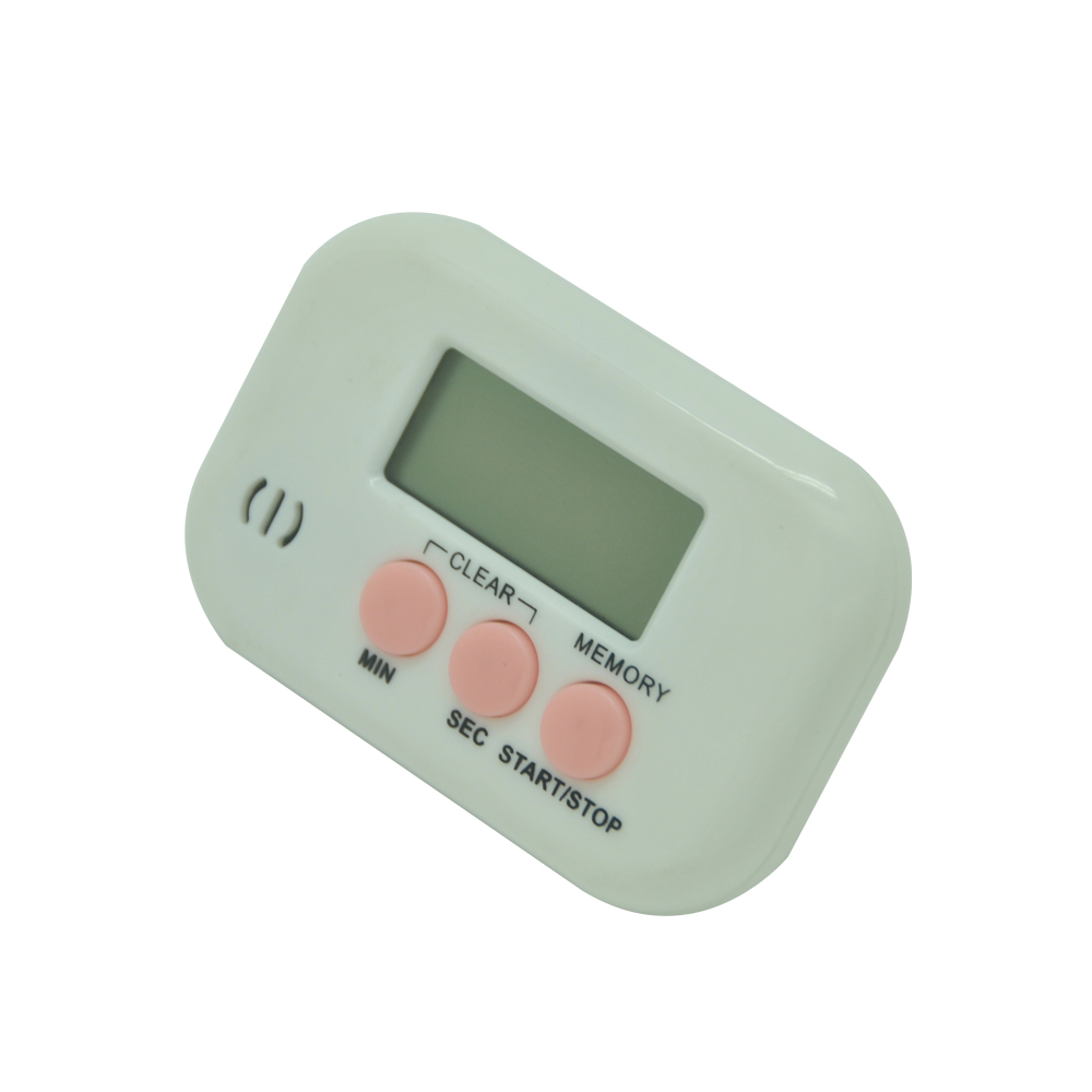 Button Pressing Control LCD Digital Timer