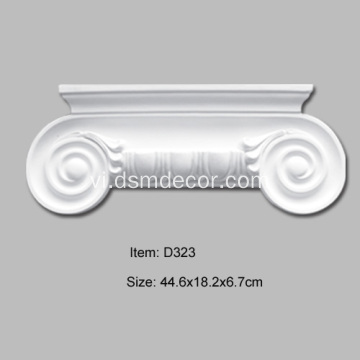 Cột Ionic Cột Pilaster Capital