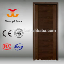 Hotel Wooden solid core walnut flush door