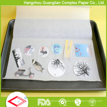FDA Approved 40GSM Greaseproof Cooking and Baking Paper