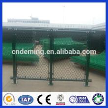 Boa qualidade galvanizado em pó revestido de PVC preto ou verde cerca de ligação da cadeia