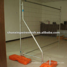 Cercas de piscina removíveis sistemas de vedação temporária