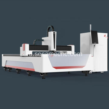 Fiber Metal Laser Cutting Machine with Rotary
