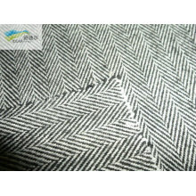 cotton Y/D brush fabric