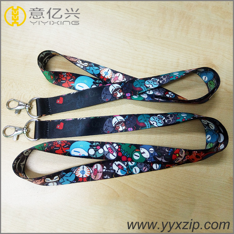 Customized Logo Anime Lanyards