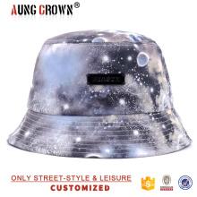 Шляпа шляпы девочек, дешевая ведро шляпа / колпачок, галактика дешевая ведро шляпа / колпачок