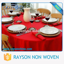 """Alibaba China Supplier Cheap Price Wholesale 132"""" Round Size Luxury Wedding Table Cloth"""