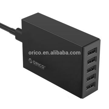 Carregador de Desktop USB ORICO de 5 portas (CSL-5U)