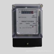 Medidor estático eletrônico da energia do LCD da Uniphase dois fios