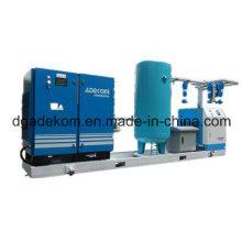 Skid-Mounted Compressed Screw Air Compressor System (KB18DR-8)