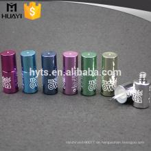 runde Form des Gewohnheitsdesigns leere UVgel-Nagellack-Glasflasche