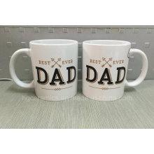 Cadeau de fête des pères, tasse de jour de père, tasse de cadeau