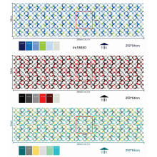 Mattress Fabric In Rolls Polyester Printed Textile