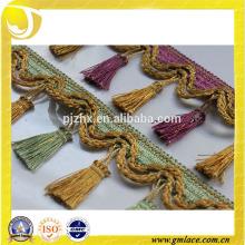 Stock Tassel Fringe pour les robes et la décoration de la maison