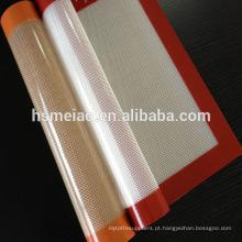 Tapete de cozimento de silicone antiaderente estocado para venda por atacado