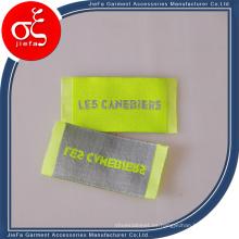 Precio de fábrica Marca simple Etiqueta tejida / Etiqueta de ropa