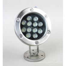 12W Multi Color LED Unterwasserbeleuchtung