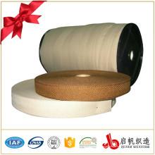 Cinta tejida poliester de encargo de la cremallera de las correas de la fábrica de China