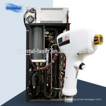 Alexandrite Laser Hair Removal system 808nm diode laser vertical