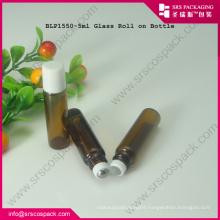 5ml Glass Brown Sample Roll On Perfum Bottle