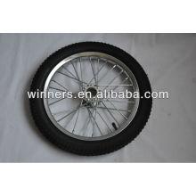 """roue de bicyclette en acier 16 """""""