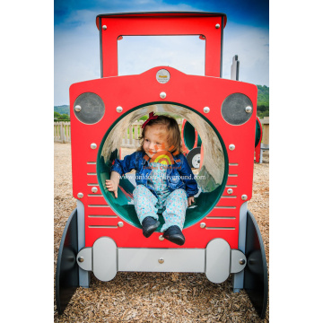 Equipement Outdoor Plastic Playhouse Automobile