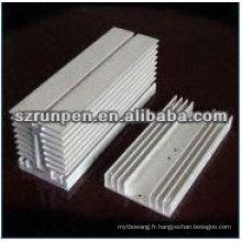Profils de dissipateur de chaleur à l'extrusion d'aluminium