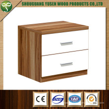 Wood Bedroom Furniture High Gloss Night Stand