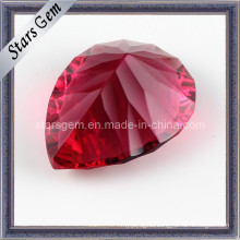 Beautiful Pear Shape Millennium Cut Ruby for Jewelry