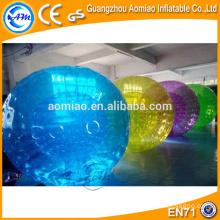 Bola de hámster nueva colorida colorida del tamaño del cabrito bola inflable del zorb para el bowling