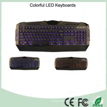 Cool Design Three Colors LED Mechanical Type Gaming Keyboard (KB-1902EL)