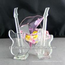 2014 новый продукт Кристалл стеклянный музыкальный инструмент для свадебные украшения или подарочные сувениры