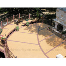 China Fornecedor Composto Plástico De Madeira Anti-UV Solid WPC Decking Laminate Flooring