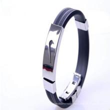 2016 Promotion Gift Top Quaulity Motivational Silicone Charm Bracelet