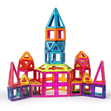 Venda quente brinquedos plástico magnético blocos de construção construindo brinquedos de brinquedo de plástico grandes blocos de edifício de meninos