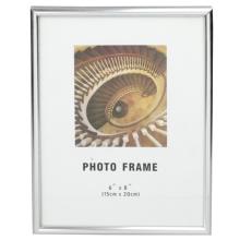 Molduras para fotos Pvc prata clássica 6x8inch