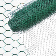 Green PVC Coated Hexagonal Wire Netting
