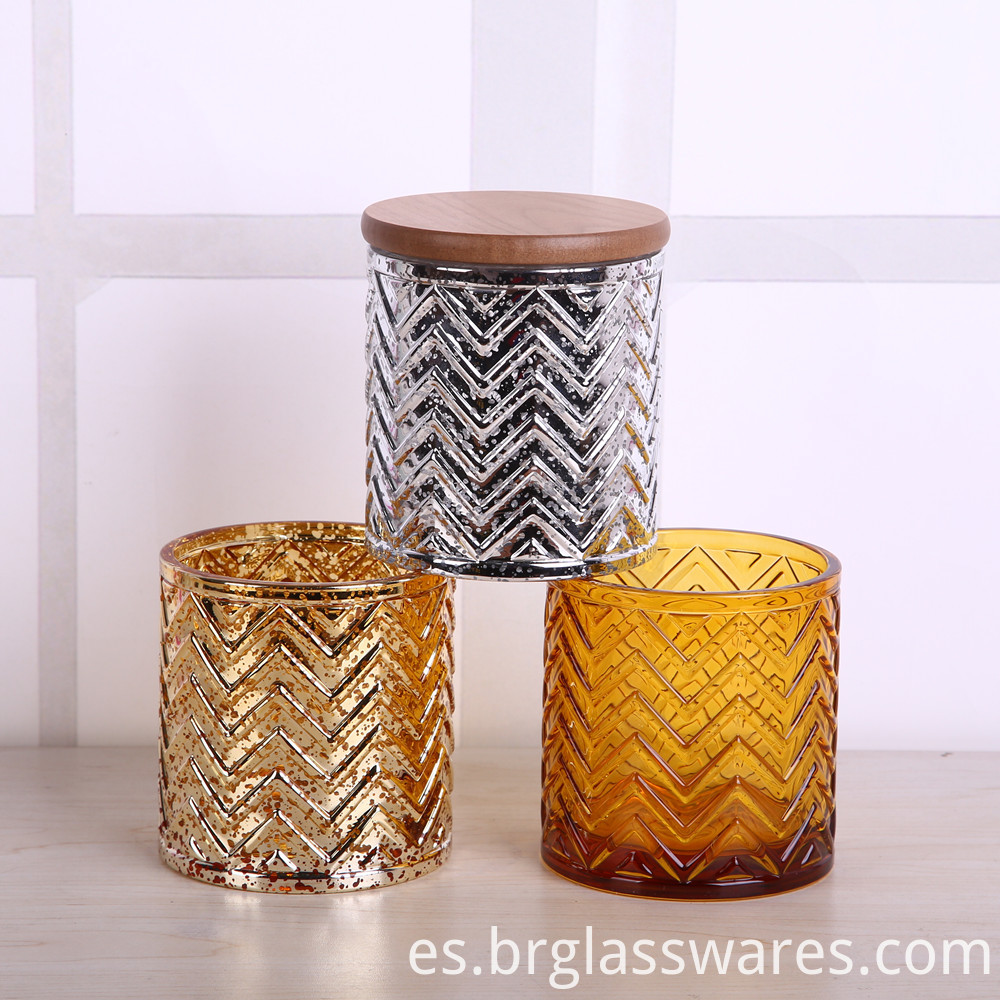 glass candle jar 2
