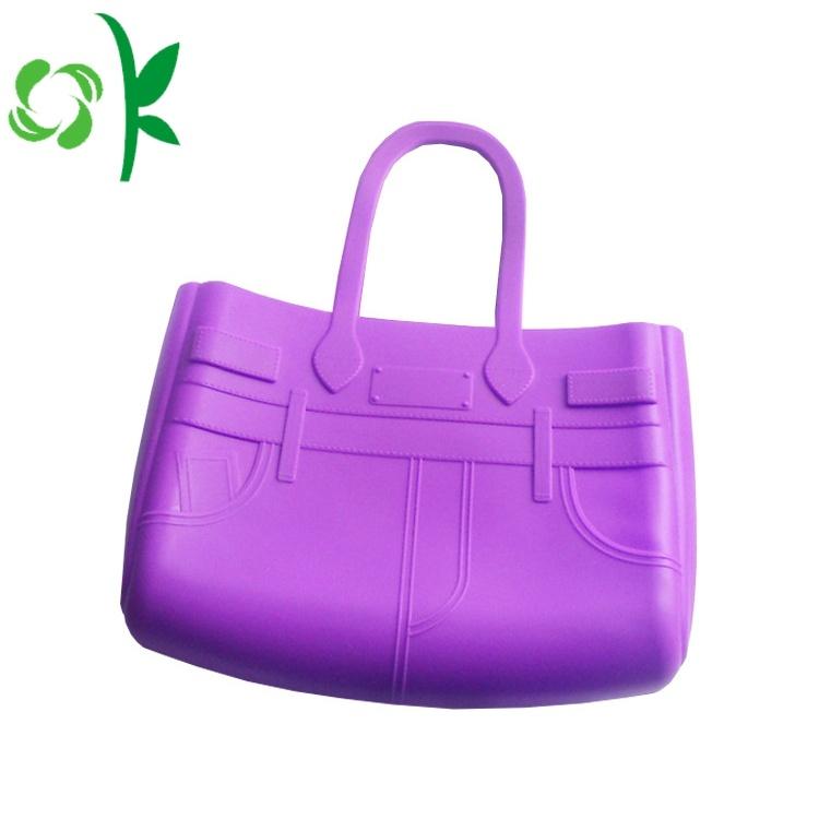 Silicone Shoulder Handbag