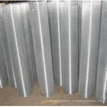 Maille de corde de fil d'acier inoxydable à hautes températures